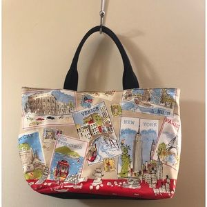 Talbots Cityscapes Tote